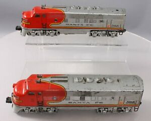 Lionel 2343 Vintage O Santa Fe F3 AA Diesel Locomotive Set