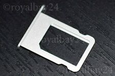 iPhone 5/5s ALU nano SIM slot tray Halter Schacht card holder Schlitten silber