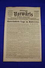 VORWÄRTS (1. April 1919): Unveränderte Lage im Ruhrrevier