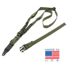 CONDOR Adder Tactical Double Bungee 1 Point Rifle Sling - OD #US1022