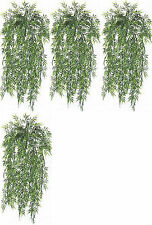 """4 BAMBOO IVY BUSH 32"""" ARTIFICIAL PLANT IN OUTDOOR GARLAND POOL PATIO DECOR HOME"""