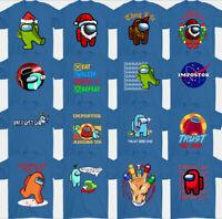 Parmi US T-Shirt,Impostor,Jeux,Joueur,Imposteur,Hommes,Garçons,T-Shirt,Enfants