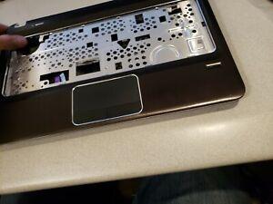 HP Pavilion DM4-2000 Palmrest w/Touchpad Keyboard and bottom case 636946-001