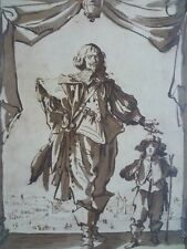 JACQUES CALLOT ( 1592-1635 ) GRAVURE FAC SIMILE PROCEDE DANIEL JACOMET 1966
