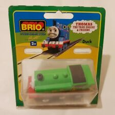 Thomas The Tank Engine & Friends BRIO DUCK WOOD TRAIN WOODEN NEW IN BOX