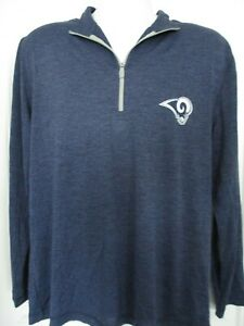 NEW! NFL Los Angeles Rams Men's Pullover Lightweight Jacket -Size Large