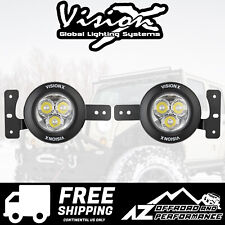 Vision X VSPEC Upgrade Fog Light Kit For '18+ Jeep Wrangler JL 5504184