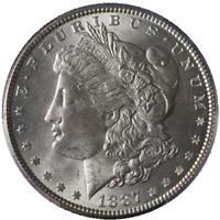 1887-P Morgan Silver Dollar PCGS MS63 Bright White Nice Strike STOCK