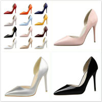 Women Fashion  Stiletto High Heel Pointed Toe Elegant Shoes Party Wedding Dress