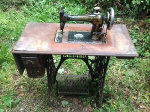 Antique Singer Sewing Machine Treadle Sphinx