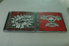 2 RESILIENCE CD's - FIGHT FOR YOUR MIND! & NEVER GIVE IN!  PUNK ROCK SEALED