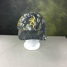 New Browning 308379171 Rimfire 3D Buckmark Cap Hat, Mossy Oak Duck Blind