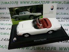MAS33S voiture 1/43 LEO models MASERATI MISTRAL Spyder 1964 cabriolet