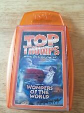 Top Trumps - Natural Wonders of the World - Complete 33 Cards