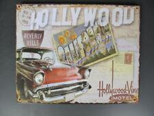 G3694 Nostalgia Metal Sign Hollywood Classic Car Pubs Wall 20x25