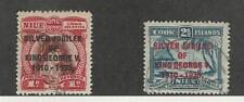Niue, Postage Stamp, #67-68 Used, 1935