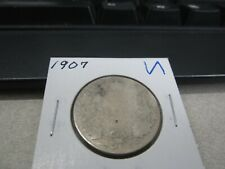 1907 - Silver - Canadian half dollar - Canada 50 cents