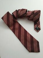 HUGO BOSS 100% Silk Red Tie Made in Italy
