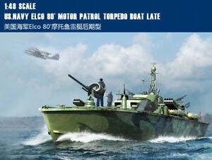 US. NAVY ELCO 80 MOTOR PATROL TORPEDO BOAT LATE 1/48 ship Trumpeter model kit