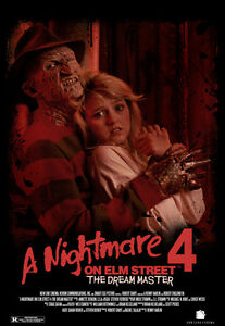 """A Nightmare on Elm Street 4 Movie Poster [Licensed-NEW-USA] 27x40"""" Theater Size"""