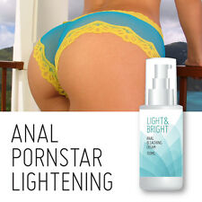 LIGHT & BRIGHT ANAL BLEACHING CREAM – SEXY TIGHT PINK LIGHTER ANUS BUM PORN