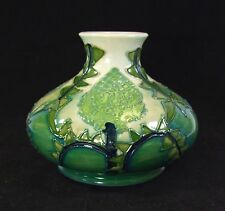 Moorcroft - Sally Tuffin - Squat Vase - 1990's -  Made in England.