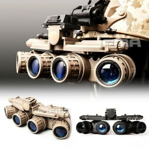 FMA Hunting Tactical-Airsoft GPNVG 18 Night Vision Goggle NVG DUMMY Model BK/DE