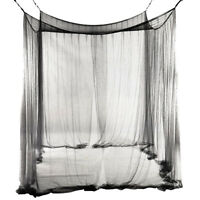 4-Corner Bed Netting Canopy Mosquito Net for Queen PK