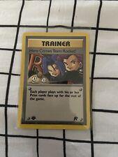 Here Comes Team Rocket - 71/82 Non Holo T.R.1st Edition Pokémon Card - GEM MINT