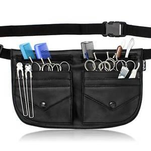 Kassaki Hairdressing Tool Belt Dog Groomer Scissor Pouch Shear Salon Holster Bag