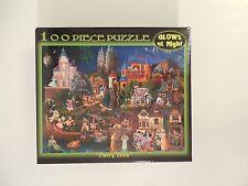 Fairy Tales 100 Piece Glow in the Dark Puzzle Artist Christensen