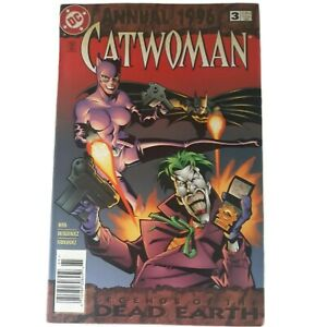 Vintage Catwoman DC Comics Annual #3 DC 1996 Annual Legends of the Dead Earth