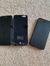 I Phone 7 Plus Batería externa más caso de goma pre propiedad Buen Estado