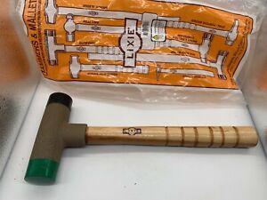 "Lixie 150L-MH 1-/2"" Face Dead Blow Hammer (Light Version) Med/Hard Faces"