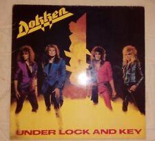 "☠ DOKKEN ""Under lock and key"" (1985 ELEKTRA ESPAÑA) VG+/EX+"