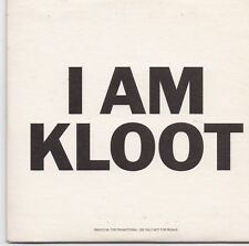 I Am Kloot-From Your Favorite Sky promo cd single