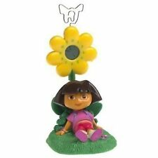 Dora Explorer Flower Clock & Picture Memo Holder NIB