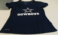 Dallas Cowboys Ladies Everyday Legend V-Neck Performance Shirt L Football