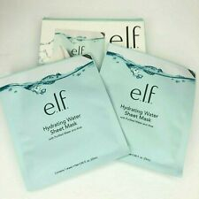 E.L.F. Hydrating Water Sheet Mask with Purified Water & Aloe NEW 2 pack