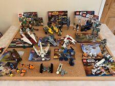lego star wars bundle multiple sets complete (in most cases)
