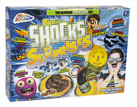 Box of Shocks & Surprises Practical Jokes Trickster Amazing Pranks Play Set