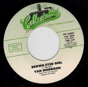 """VAN MORRISON - Brown Eyed Girl 7"""" 45"""