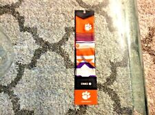 Clemson Tigers Embroidered Socks Adult Large 9-12 Brand New Stance