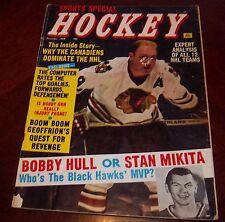 Bobby Hull Sports Special Hockey December 1968 Stan Mikita