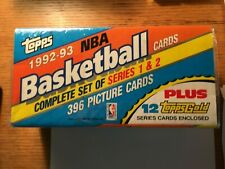1992 TOPPS BASKETBALL COMPLETE FACTORY SEALED SET SHAQ ROOKIE CARD WITH BONUS