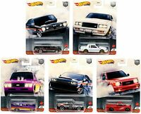 2020 Hot Wheels Power Trip Set of 5 Cars Car Culture 1/64 Diecast Cars