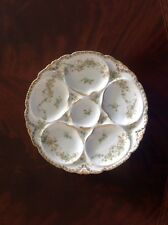 Rare Maurice Havilans Antique Oyster Plate