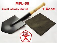 Small Infantry Spade Sapper Shovel Soviet Russian Army Original Authentic +Case