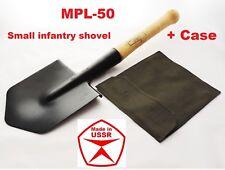 Russian Military Spade Camping Metal Shovel Soviet Russian Army Original + Case