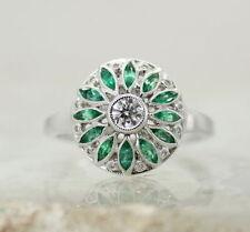 Birthday Cluster Natural Fine Diamond Rings